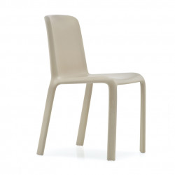 Lot de 4 chaises Snow 300, Pedrali sable