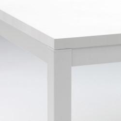 Kuadro table rectangulaire, Pedrali blanc L180x90cm