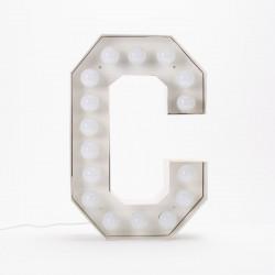 Lettre géante LED Vegaz, Seletti c