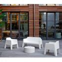 Fauteuil Lounge Plus Air 631, Pedrali blanc