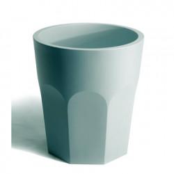 Pot design Cubalibre, Plust bleu vert