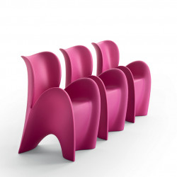 Chaise design Lily, MyYour lilas