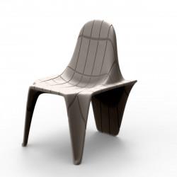 Chaise F3, Vondom taupe