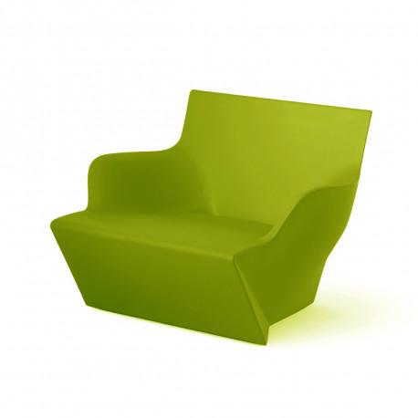 Fauteuil modulable Kami San, Slide Design vert Mat