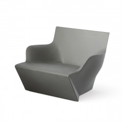 Fauteuil modulable Kami San, Slide Design silver Laqué