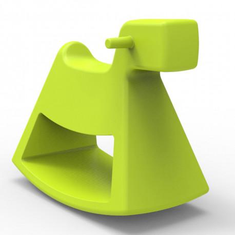 Chaise à bascule Rosinante, Vondom pistache Grand modèle