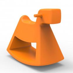 Chaise à bascule Rosinante, Vondom orange Grand modèle