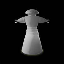 Lampe Mr Bot, Slide Design blanc