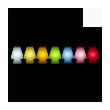 Lampe Prêt à porter, Slide Design blanc Lumineux à ampoule
