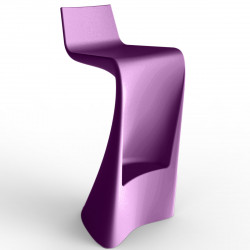 Tabouret de bar Wing, Vondom violet Mat