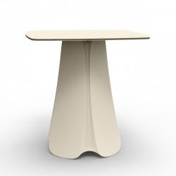 Table design Pezzettina, Vondom écru 80x80xH72 cm