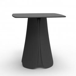 Table design Pezzettina, Vondom anthracite 90x90xH72 cm