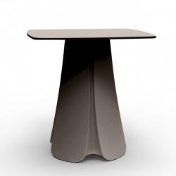 Table design Pezzettina, Vondom taupe 90x90xH72 cm