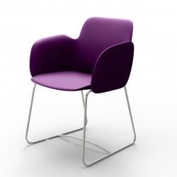 Chaise de repas Pezzettina, Vondom violet