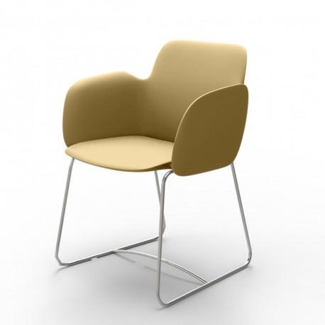 Chaise de repas Pezzettina, Vondom beige