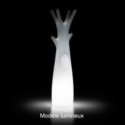 Porte-manteau arbre design Godot, Lumineux à ampoule pour l\'intérieur, Plust Collection, embouts blancs