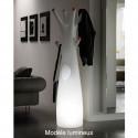 Porte-manteau arbre design Godot, Lumineux à ampoule pour l'intérieur, Plust Collection, embouts rouge
