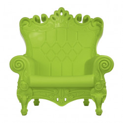 Fauteuil Trône Queen of Love, Design of Love by Slide vert