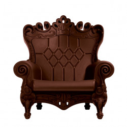 Fauteuil Trône Queen of Love, Design of Love by Slide chocolat