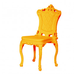 Chaise design Princess of Love, Design of Love by Slide jaune