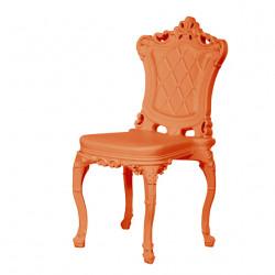Chaise design Princess of Love, Design of Love by Slide orange
