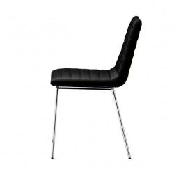 Chaise design Cover, Midj noir