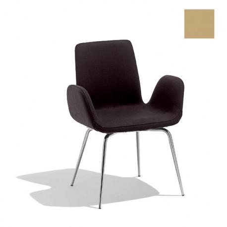 Chaise design Light, Midj beige