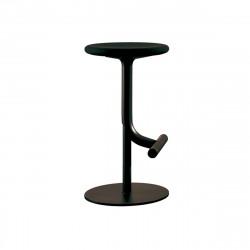 Tabouret haut design Tibu, Magis noir Modèle réglable
