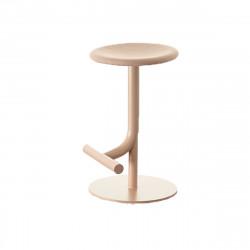Tabouret haut design Tibu, Magis rose Modèle réglable