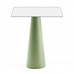 Mange debout design Fura carré, Plust Collection base romarin, plateau blanc