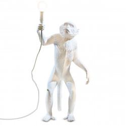 Lampe à poser Monkey Standing, Seletti blanc