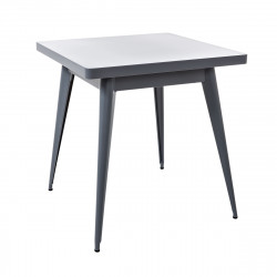 Table 55 Verni, Tolix brillant 70x70 cm