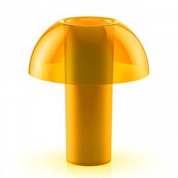 Lampe de table Colette, Pedrali jaune transparent Taille S