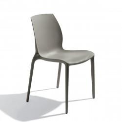 Chaise design Aqua anthracite
