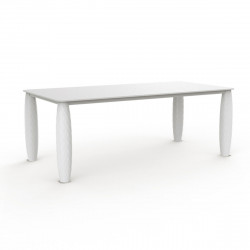 Table Vases, Vondom blanc 100x100 cm