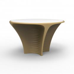 Table Biophilia, Vondom beige Non-lumineux