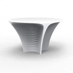 Table Biophilia, Vondom blanc Lumineux