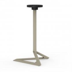 Pied de table Delta, Vondom ecru Basculant, H73 cm