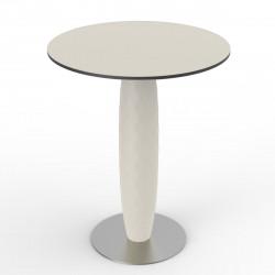 Table ronde Vases, Vondom blanc Diamètre 70 cm