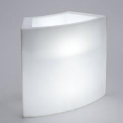 Module Ice Bar lumineux, Slide Design blanc