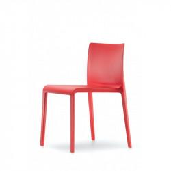 Chaise Volt 670, Pedrali, Rouge