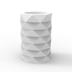 Pot de Jardin Marquis diamètre 40 cm x hauteur 60 cm, Vondom blanc Mat