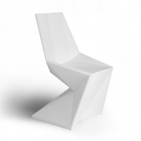 Chaise design Vertex, Vondom blanc
