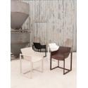 Lot de 2 chaises Wall Street, Vondom bronze