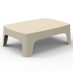 Table basse lounge Solid, Vondom écru
