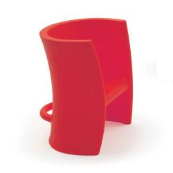 Fauteuil enfant et chaise à bascule Trioli, 2 en 1, Magis Me Too, rouge