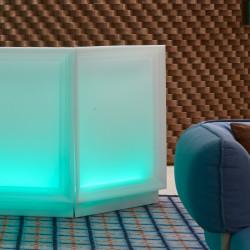 Bar Dublin lumineux Led RGBW, module d'angle, MyYour