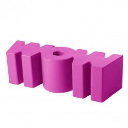 Banc Wow, Slide Design fuchsia Mat