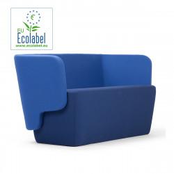 Canapé Wrap, True design, bleu