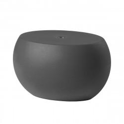 Table basse Blos low table, Slide Design, gris éléphant